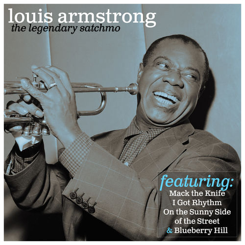 louis armstrong the legendary satchmo music streaming. Black Bedroom Furniture Sets. Home Design Ideas