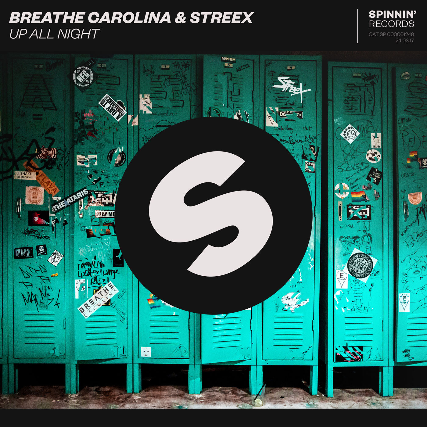 Breathe Carolina - Up All Night [single] (2017)