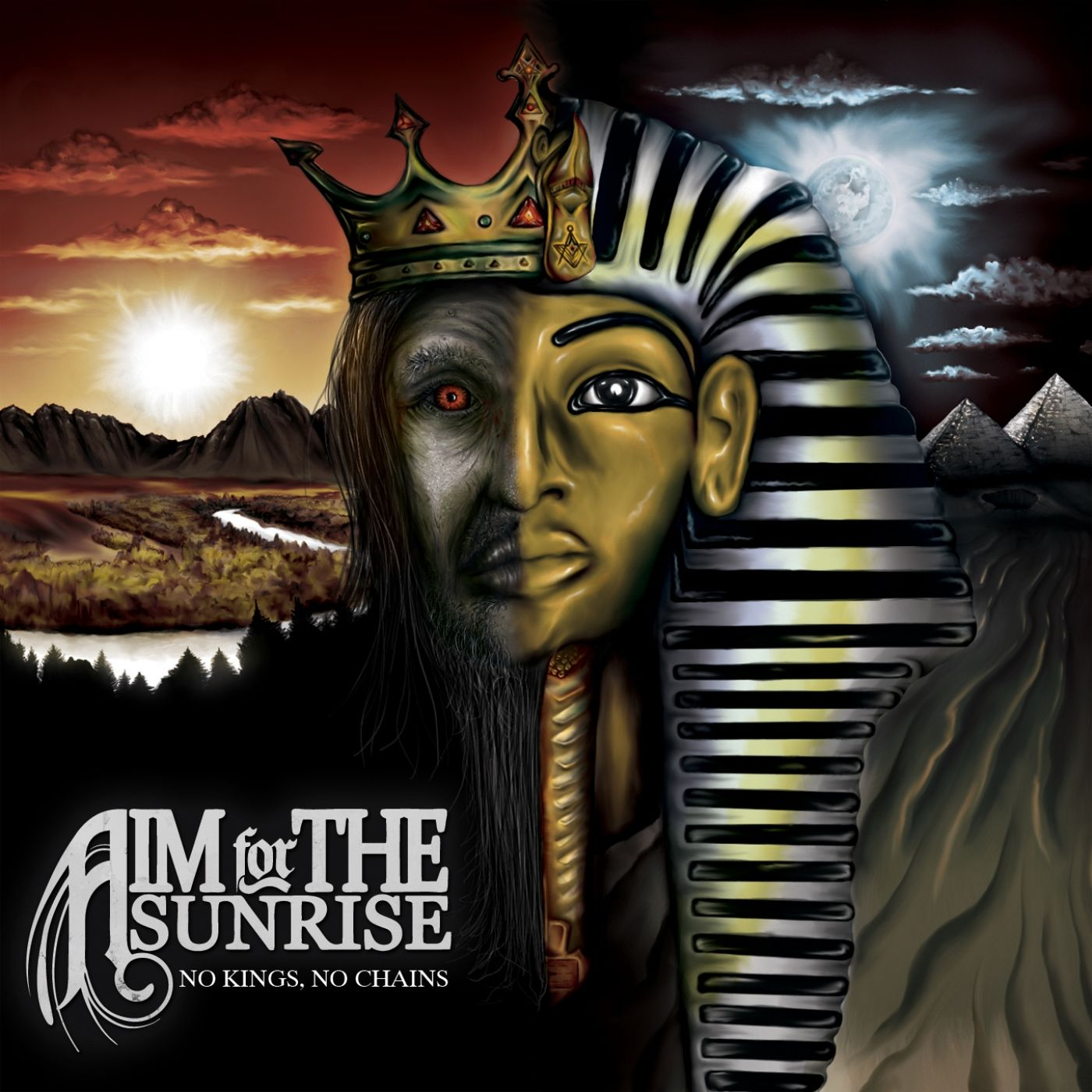 Aim For The Sunrise - No Kings, No Chains (2012)