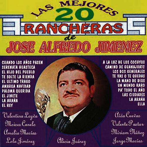 Cd las 20 mejores rancheras de José Alfredo JIménez 500x500-000000-80-0-0
