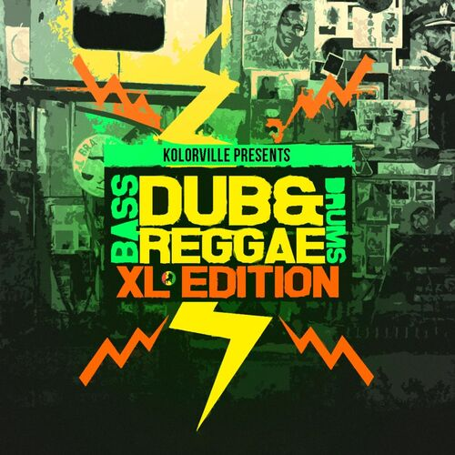 Kolorville: Dub and Reggae XL Edition (Bass Drums) - Music