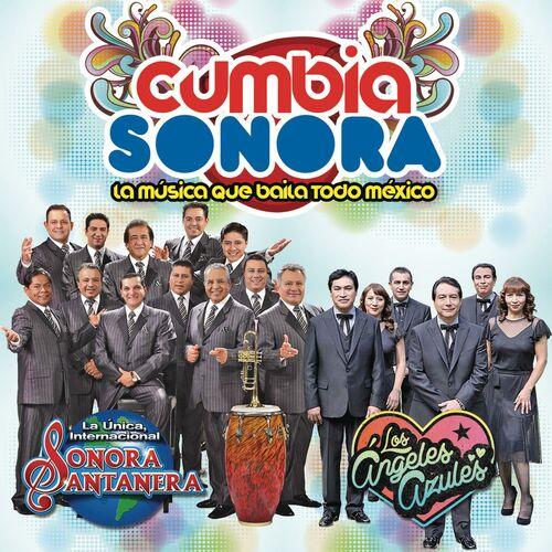 Cd Cumbia Sonora Santanera-Los ángeles azules 500x500-000000-80-0-0