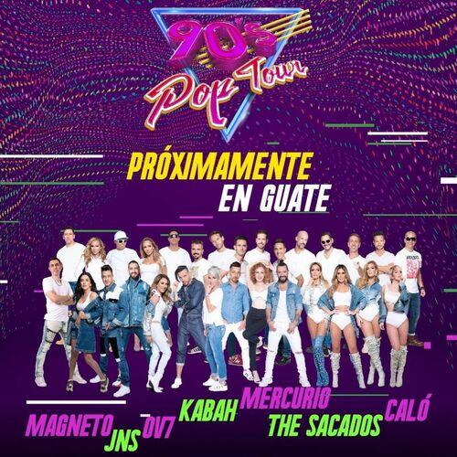 Escuchá la Playlist 90s POP TOUR